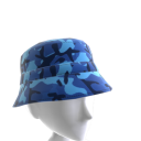 KKZ Blue Camo Bucket Hat