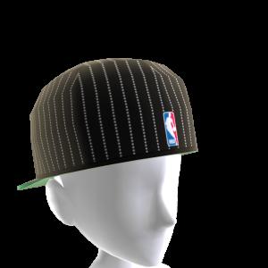 Boston Backwards Pinstripe Cap