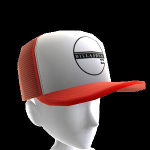 Perimeter Trucker Hat - Red