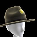 Chapéu de Sargento Instrutor
