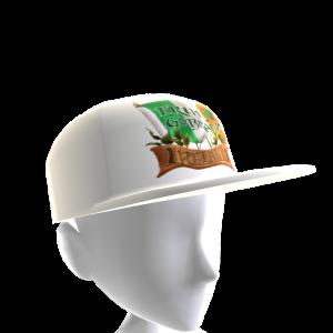 Epic St Pattys EGB Hat White 2