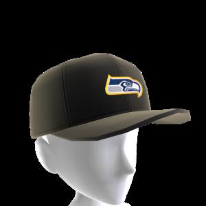 Seahawks Gold Trim Cap