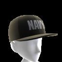 Navy Hat - Black