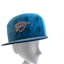 Oklahoma City Tilted Pattern Cap