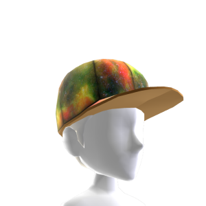 Rasta Galaxy Hat