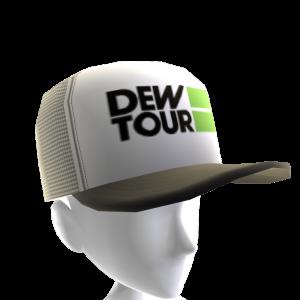 Dew Tour Trucker Hat - White