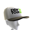 Dew Tour Trucker Hat - White