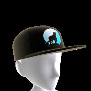 Blue Wolf Howl Hat 2