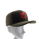 Gorra de augurio carmesí
