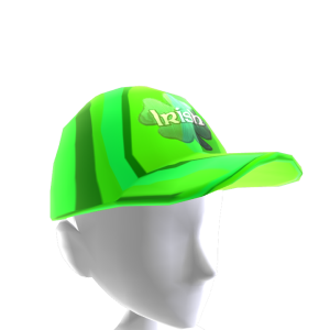 Epic St Pattys Clover Hat Green Gold