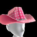 Cowboy Hat - Pink Stars