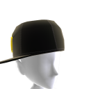 KKZ Black & Yellow Crown Fitted Hat
