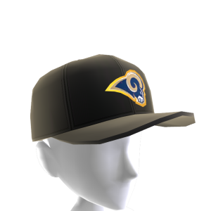 Rams Gold Trim Cap