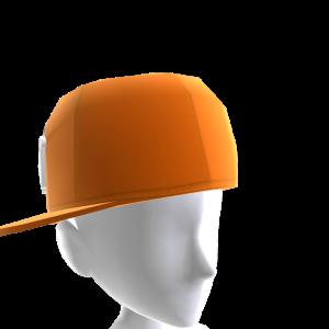 KKZ Orange & White Crown Fitted Hat