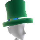 Epic St Pattys Top Hat Green