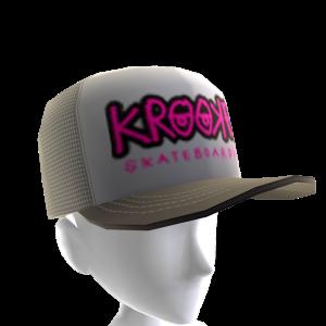 Krooked - Bones Trucker Hat - Grey