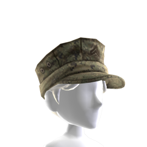 Marines Patrol Cap - Dark Green