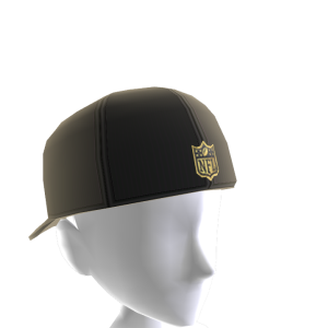 Chargers Gold Shield Cap