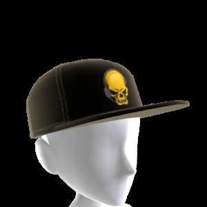 Epic Gold Gamer Skull Hat