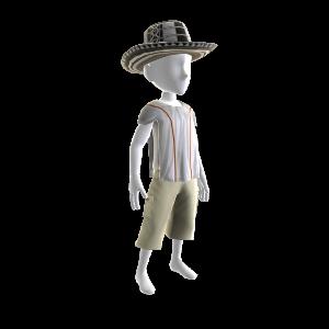 Шляпа и пончо
