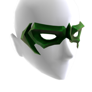 Green Domino Mask