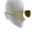 Gold Aviator Shades
