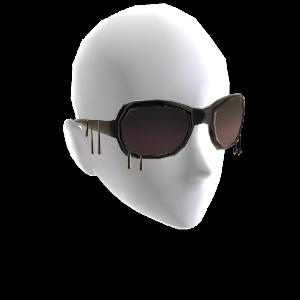 Gothic-Sonnenbrille