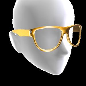 Round Glasses - Gold