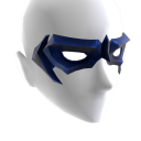Blue Domino Mask