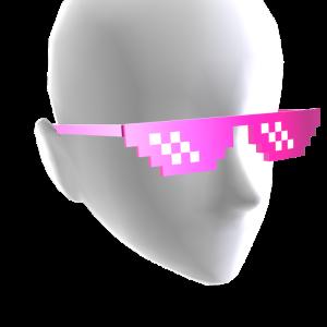 Pixel Sunglasses - Bling Pink