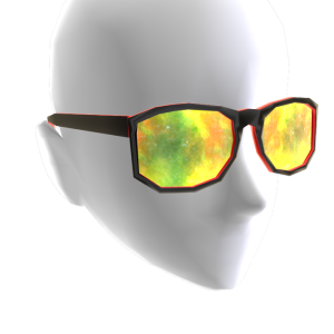 Rasta Galaxy Glasses