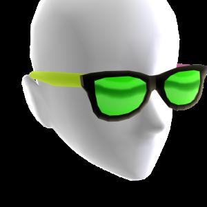 Sunglasses Tricolor Green