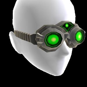 Alpha Green Goggles