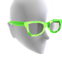 Sunglasses Green Chrome Black Lenses