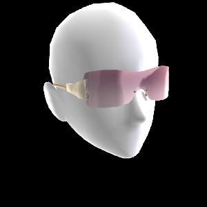Übergroße Sonnenbrille