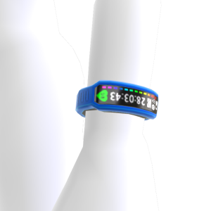 Fitness Band - Blue