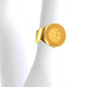 Bling Watch - Gold