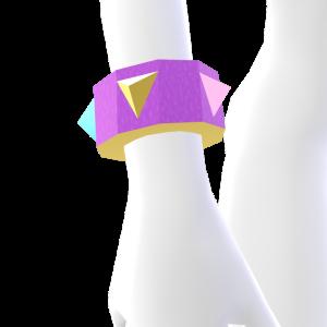 Bubblegum Spiked Bracelet