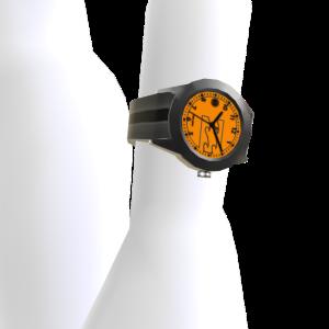 Hitch Pu Watch - Orange