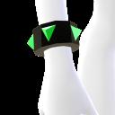 Neon Green Spiked Bracelet