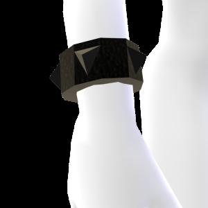 Black Spiked Bracelet
