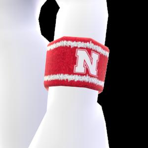 Nebraska Wristband