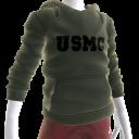 USMC Hoodie - Green