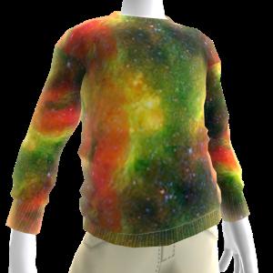 Rasta Galaxy Sweatshirt