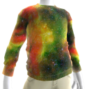 Rasta Galaxy Sweatshirt