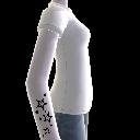 Stars Tattoo & T-Shirt white