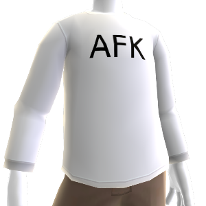 AFK Camisola de manga larga