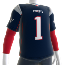 Patriots 2017 Jersey