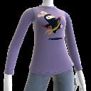 T-shirt à Manches Longues Lapin Ninja