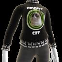 Grumpy Cat Sweater - Black